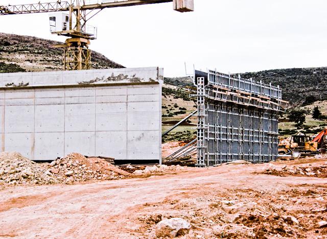 AFRICA, ALGERIA - NEW JAIL BUILDING